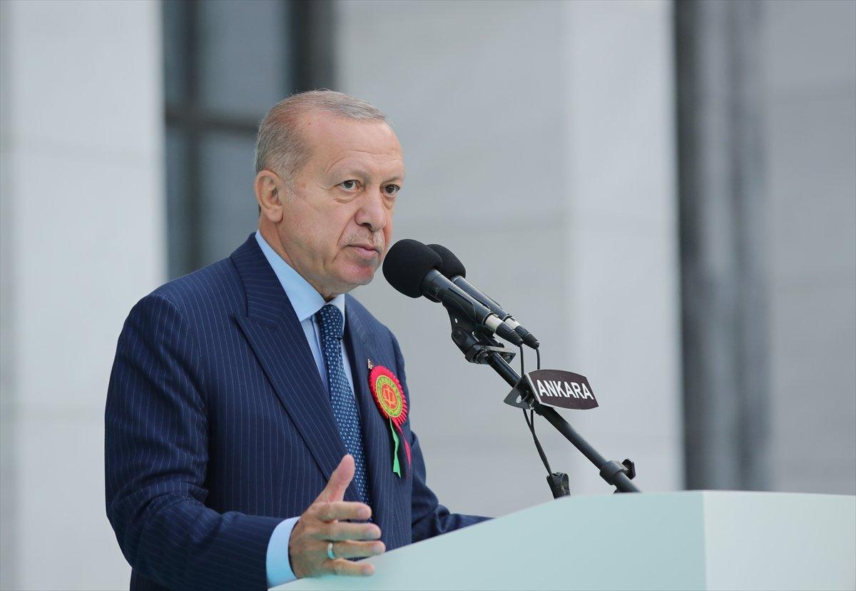 Cumhurbaşkanı Erdoğan, yeni adli yıl açılış töreninde #1