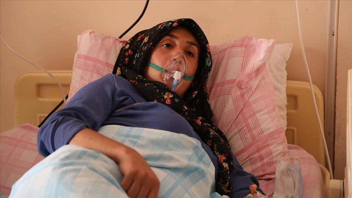 Kovid-19 testi pozitif çıkan kadın: Aşı olmadığım için gerçekten çok pişmanım #1