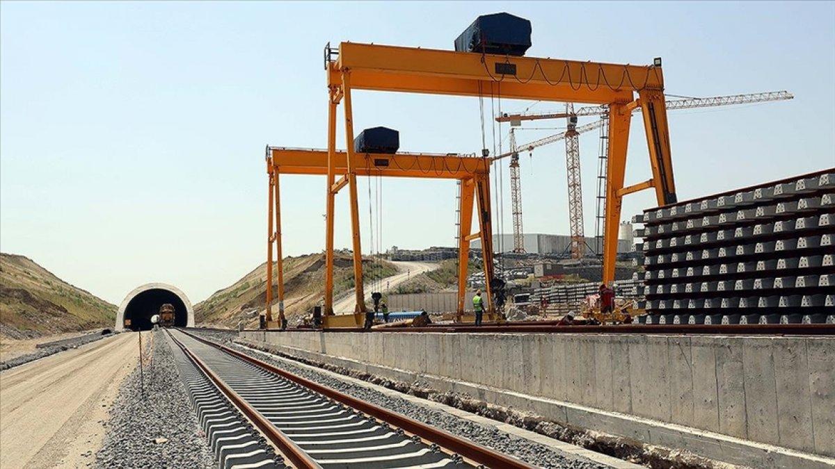 Halkalı-Kapıkule hızlı tren hattının Çerkezköy-Kapıkule etabının yüzde 47 si tamamlandı #1