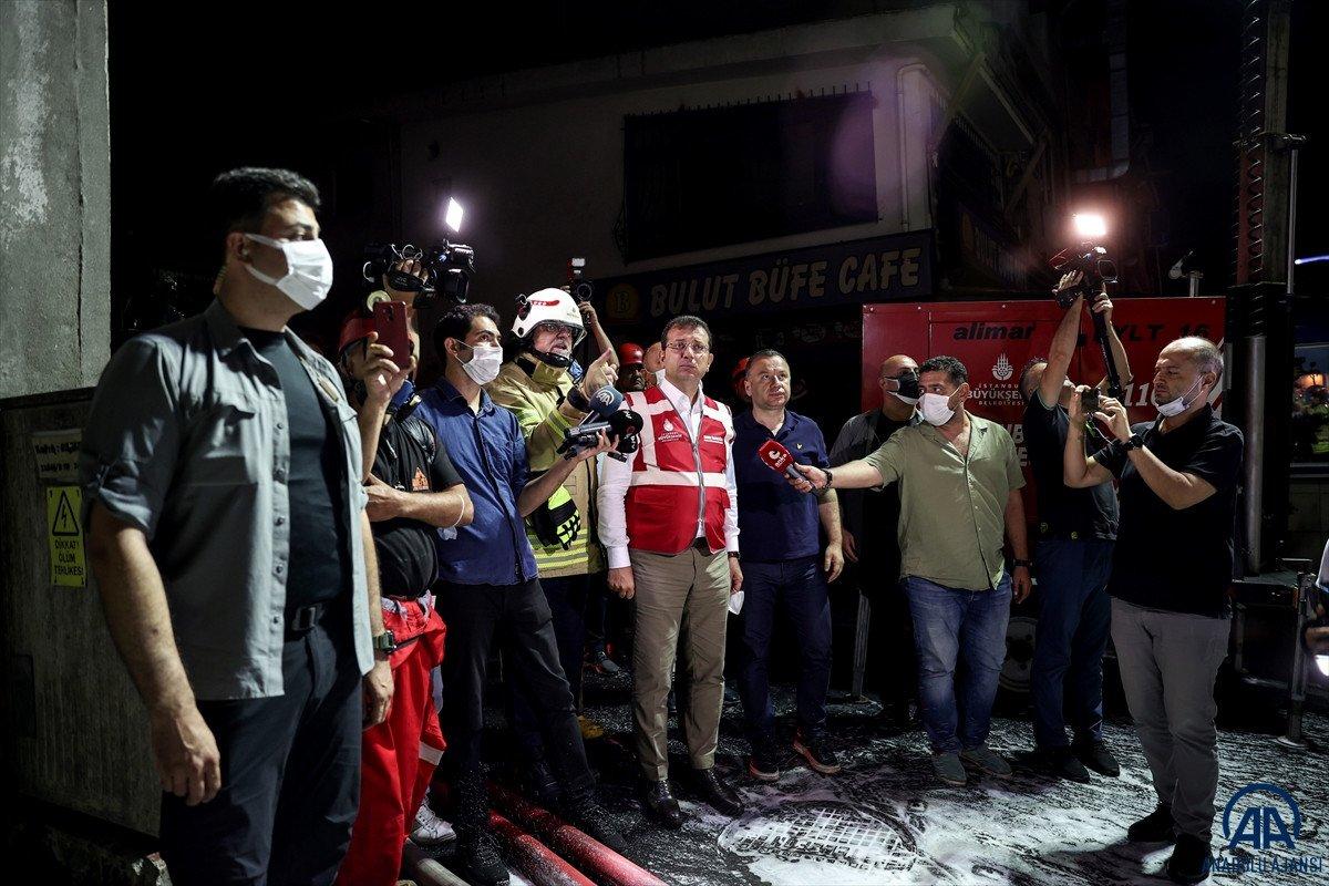 İstanbul, İkitelli Çevre Sanayi Sitesi nde yangın çıktı #12