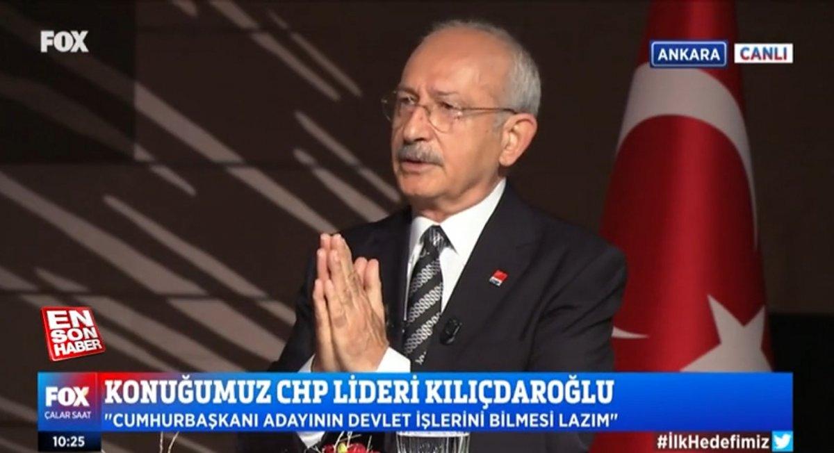 Kemal Kılıçdaroğlu ndan Millet İttifakı için Cumhurbaşkanı adaylığı açıklaması #1