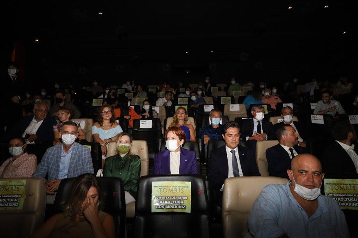 İYİ Parti Genel Başkanı Meral Akşener, Tomris Hatun filminin galasında #4