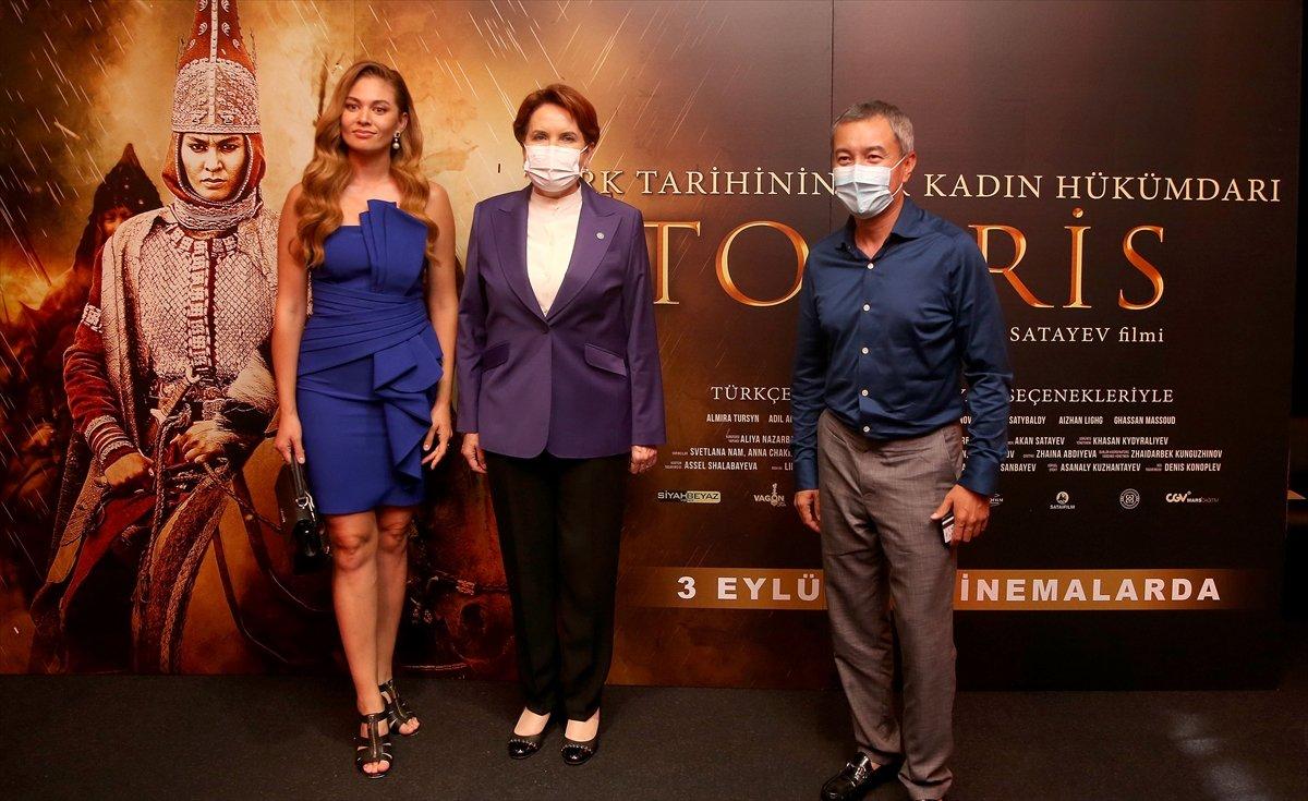 İYİ Parti Genel Başkanı Meral Akşener, Tomris Hatun filminin galasında #5