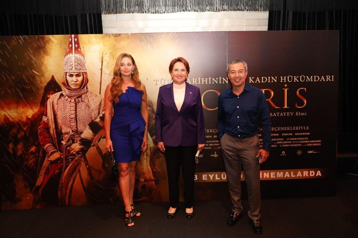 İYİ Parti Genel Başkanı Meral Akşener, Tomris Hatun filminin galasında #3