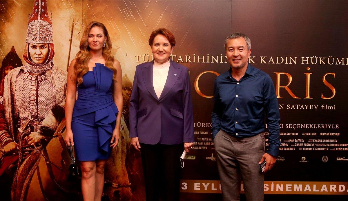 İYİ Parti Genel Başkanı Meral Akşener, Tomris Hatun filminin galasında #6