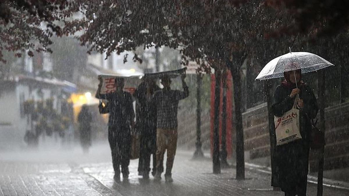 Meteoroloji den Batı Karadeniz için  sel  uyarısı #1