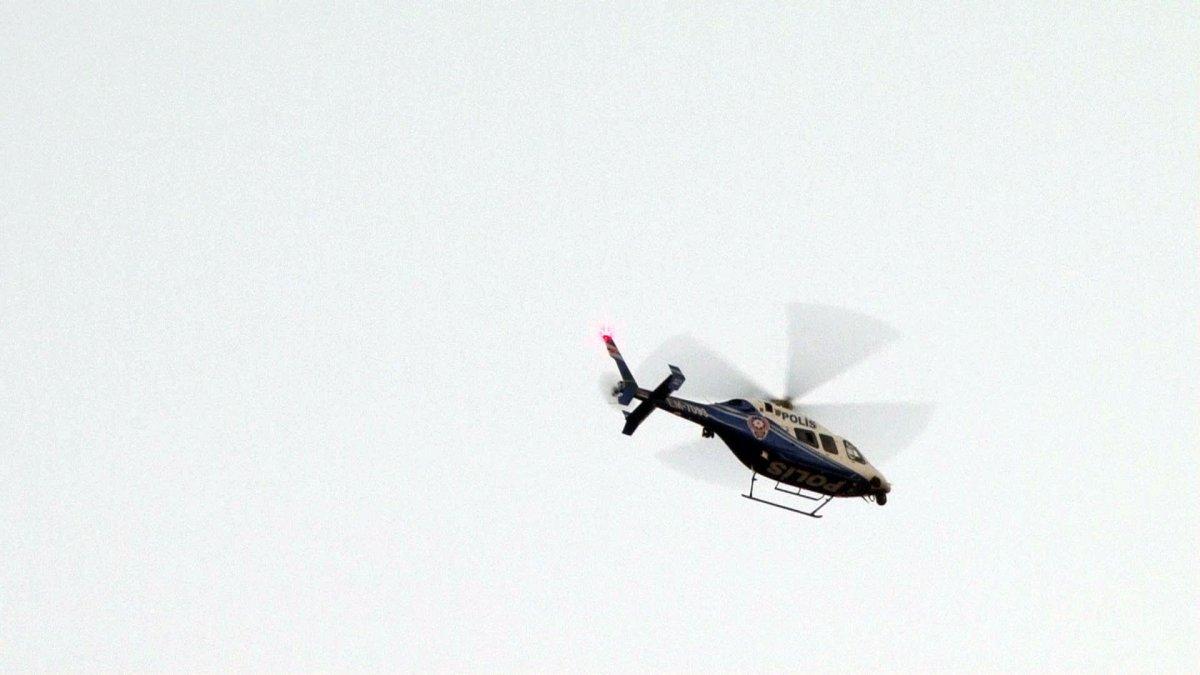 İstanbul'da helikopter destekli  Yeditepe Huzur  uygulaması #1