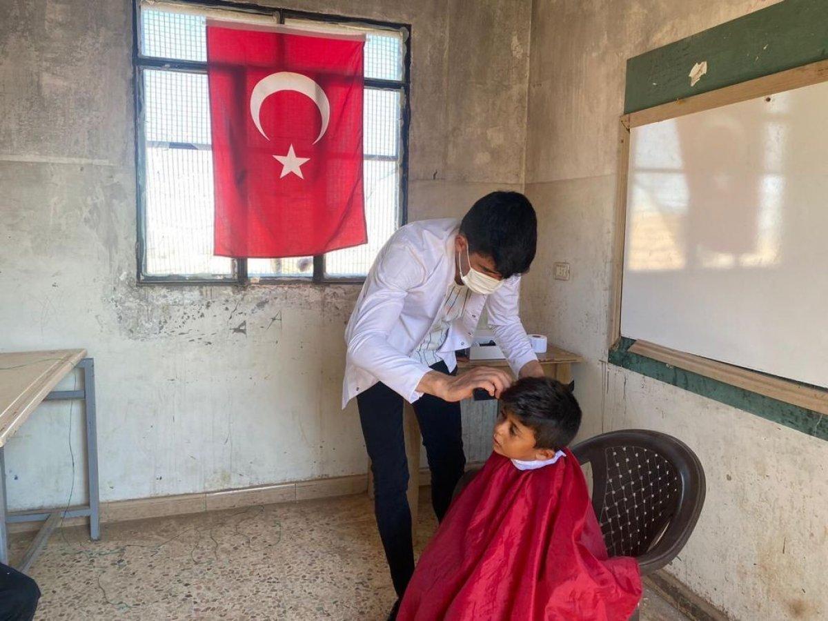 Mehmetçik ten Suriye halkına yardım #2