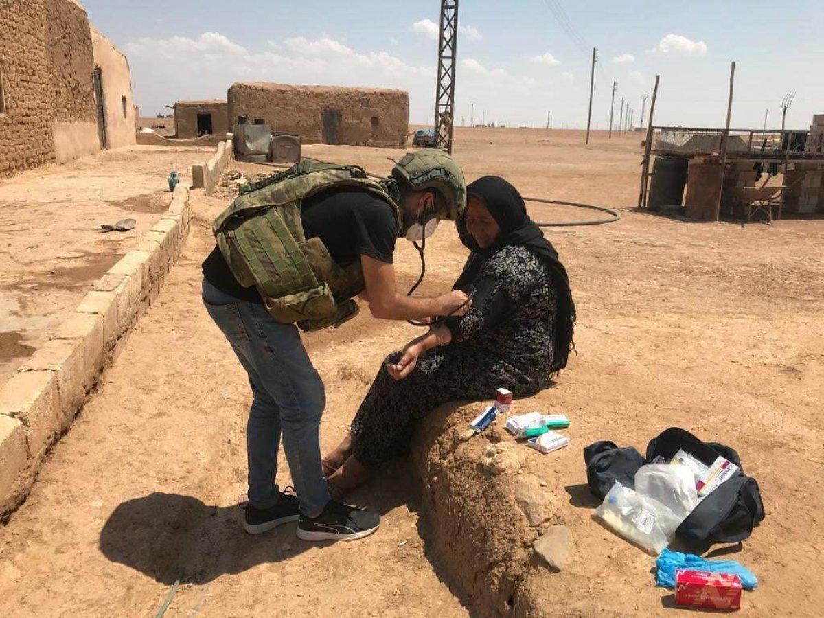Mehmetçik ten Suriye halkına yardım #8