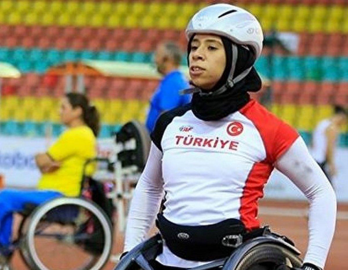 Milli atlet Zübeyde Süpürgeci, Paralimpik Oyunlar da finalde #1