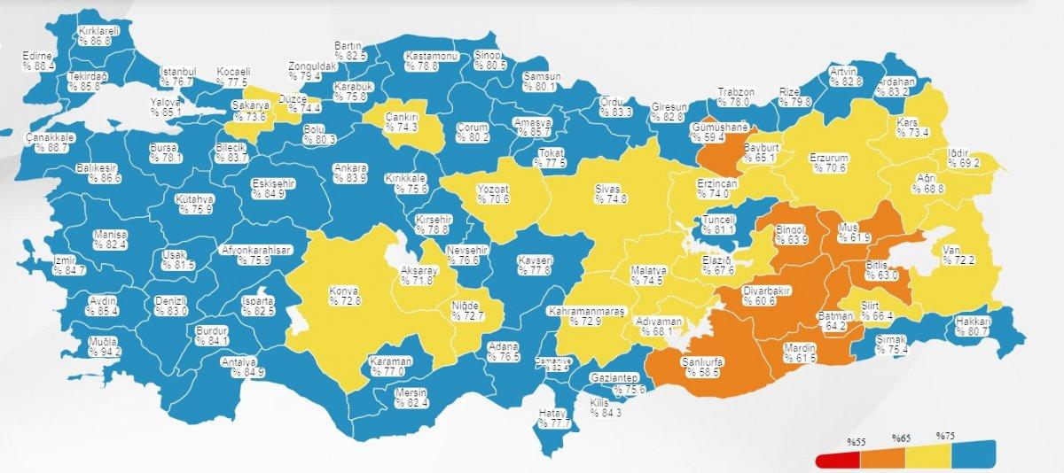Fahrettin Koca: Gaziantep mavi oldu #1