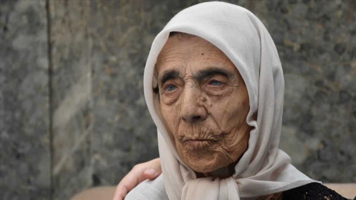 Kahramanmaraş ta 104 yaşındaki nineye sürpriz doğum günü düzenlendi #4