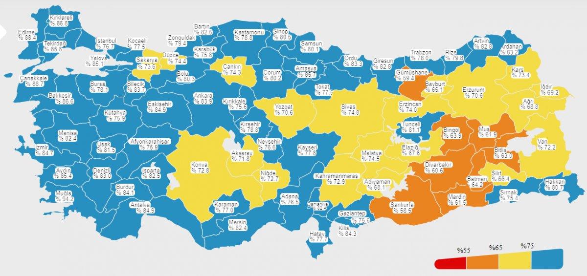 Türkiye de uygulanan aşı dozu miktarı 95 milyonu geçti #1