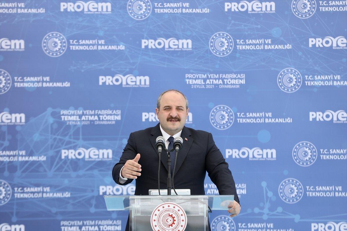 Mustafa Varank, Diyarbakır da Türkiye nin en büyük entegre yem fabrikasının temelini attı #3