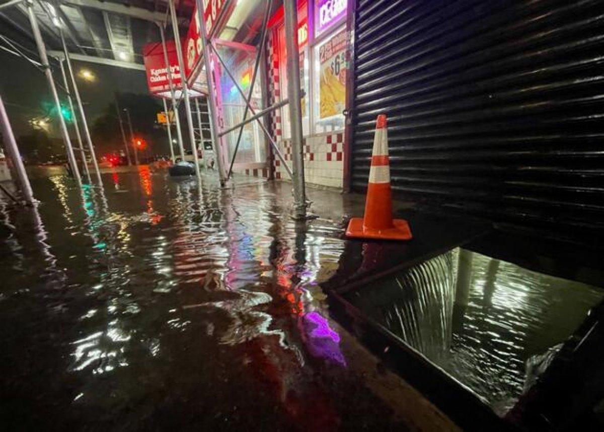 Ida kasırgası, New York u su altında bıraktı #7