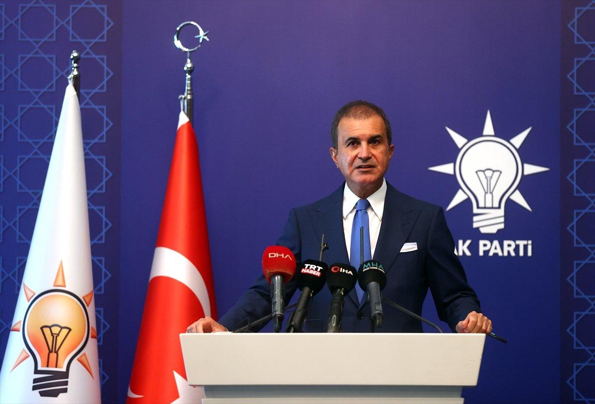 AK Parti Sözcüsü Ömer Çelik ten gündeme ilişkin açıklamalar #1