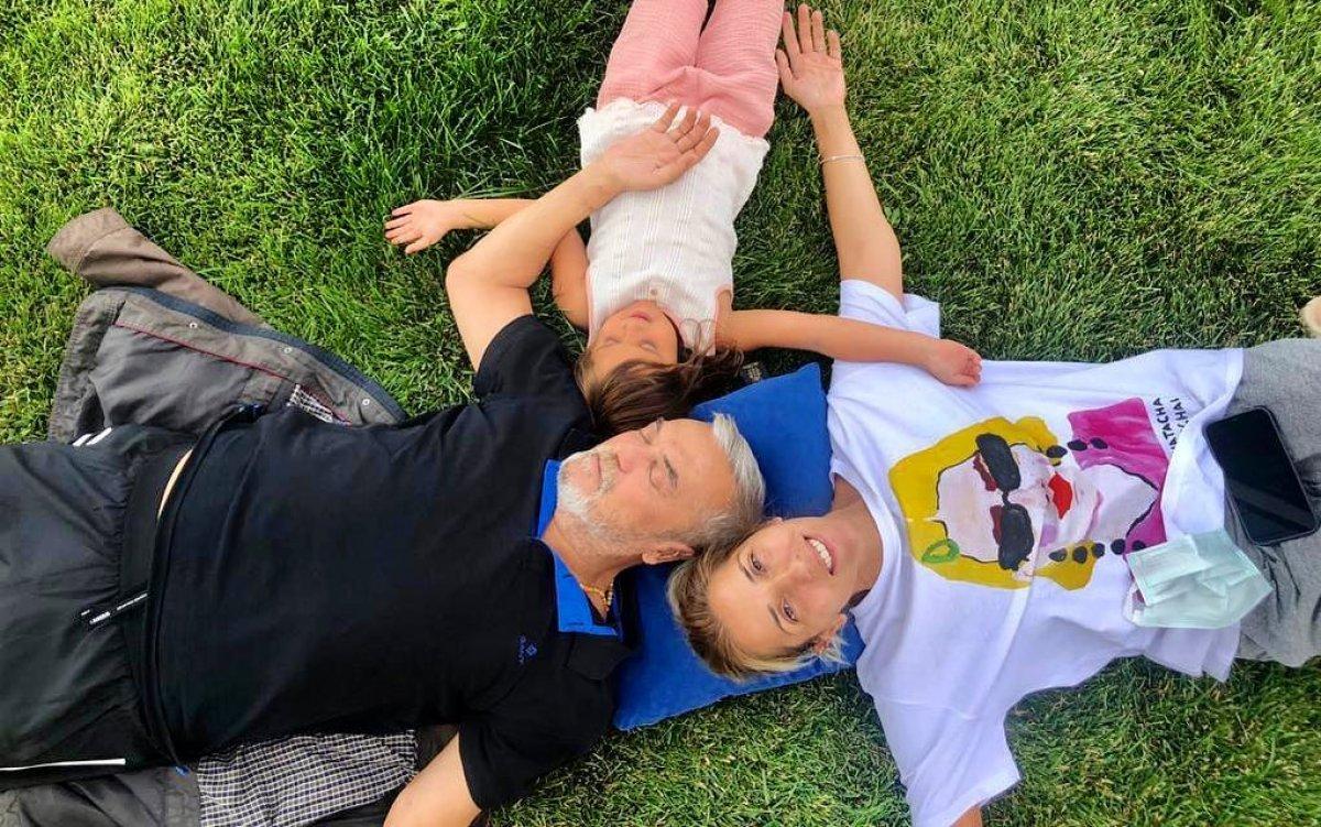 Mesut Akusta nın eşi Şafak Özbir, zor günleri anlattı #1