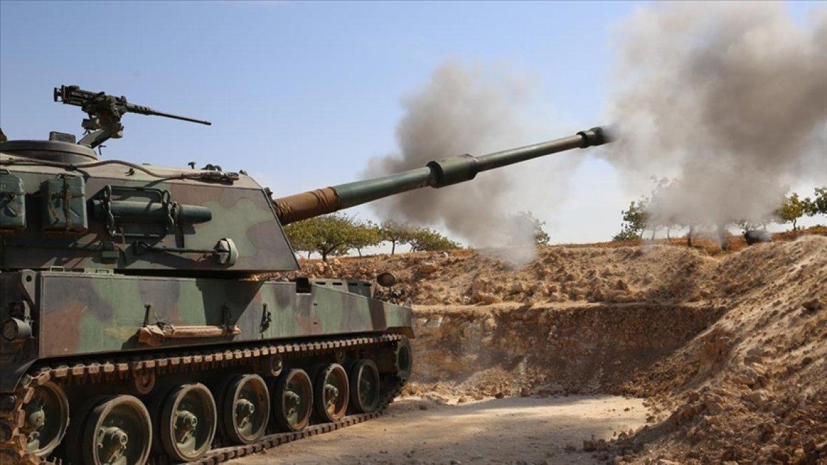 Barış Pınarı bölgesine ateş açan 9 terörist öldürüldü #1