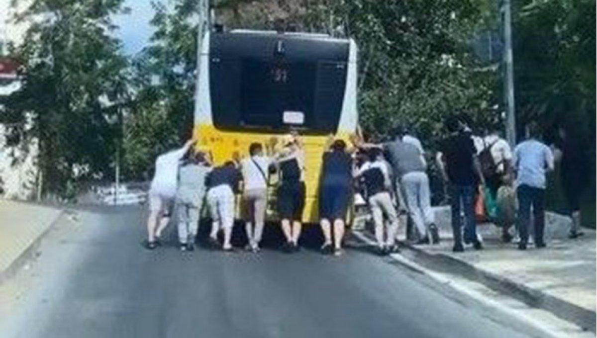 İstanbul da İETT araçlarındaki arızalar mağduriyet oluşturmaya devam ediyor #6