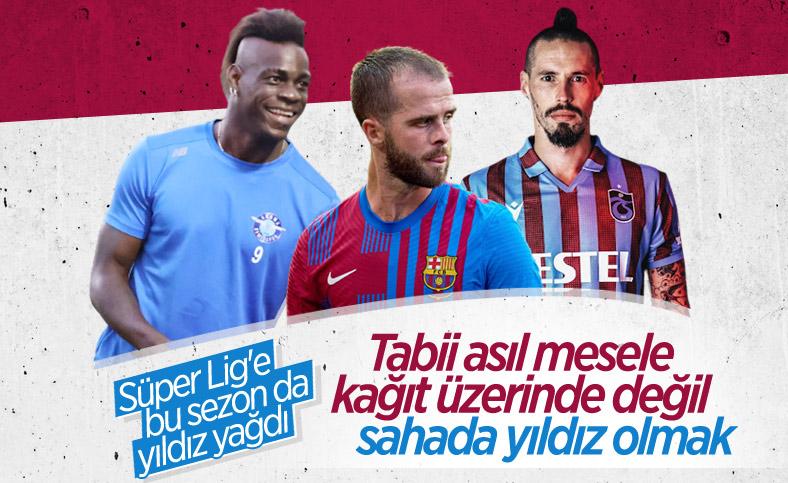Süper Lig'de top koşturacak yıldızlar