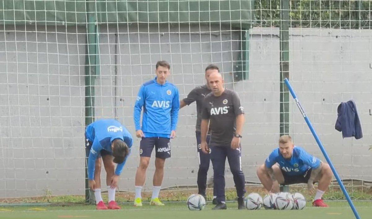 Mesut Özil ve Vitor Pereira idmanda bir arada #2