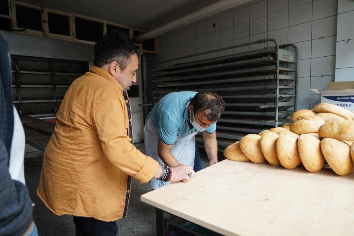 Kastamonu da çamurdan temizlenen fırında ekmek üretimine başlandı #2