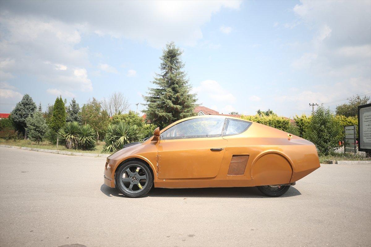Düzce'de imam hatipli öğrenciler elektrikli araç tasarladı  #6