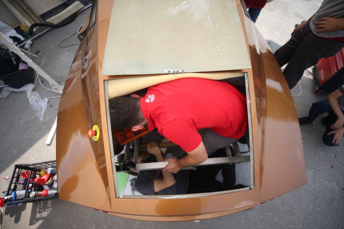 Düzce'de imam hatipli öğrenciler elektrikli araç tasarladı  #1