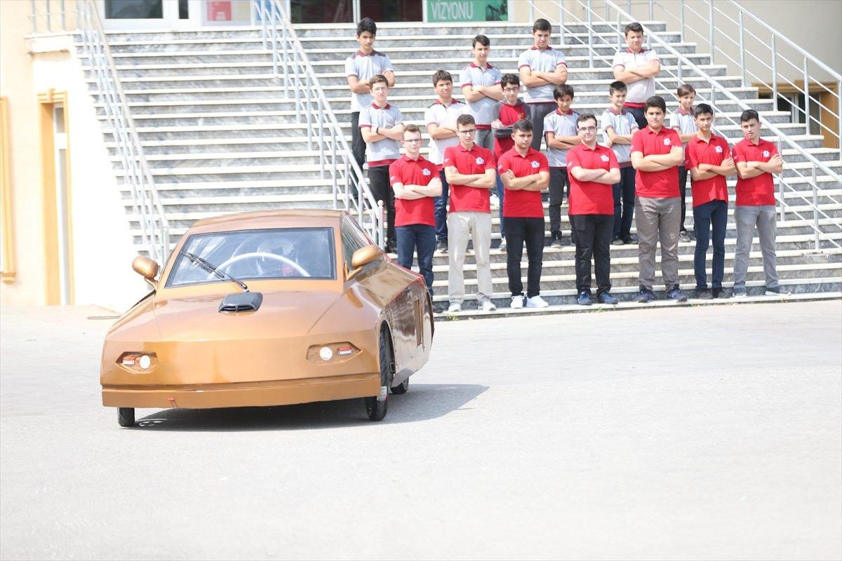 Düzce'de imam hatipli öğrenciler elektrikli araç tasarladı  #4
