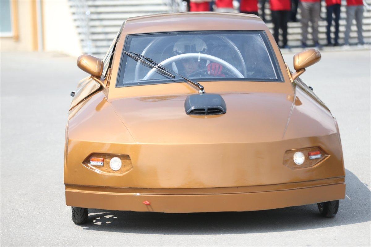 Düzce'de imam hatipli öğrenciler elektrikli araç tasarladı  #5