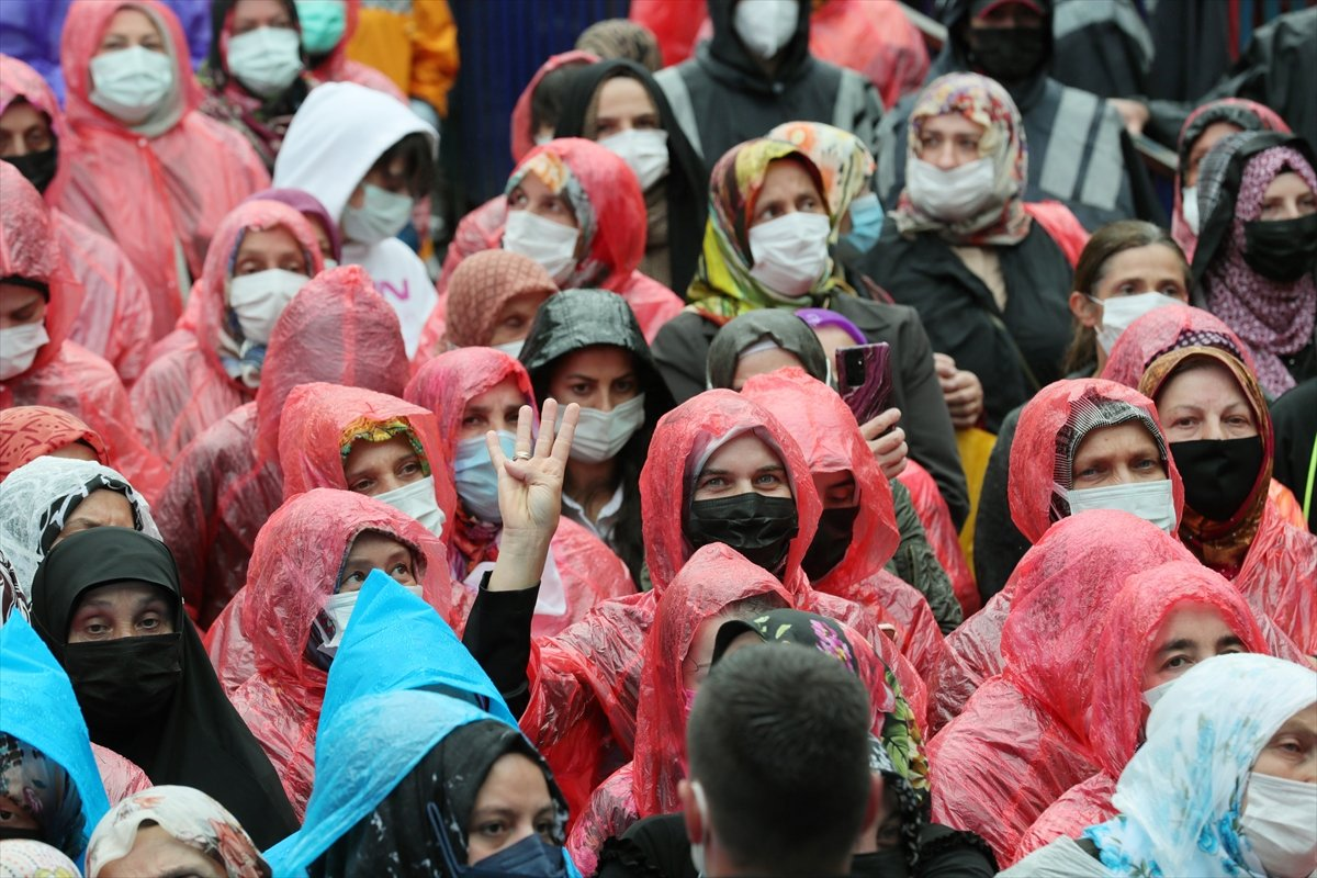Cumhurbaşkanı Erdoğan, İyidere-İkizdere yolu açılış törenine katıldı #3
