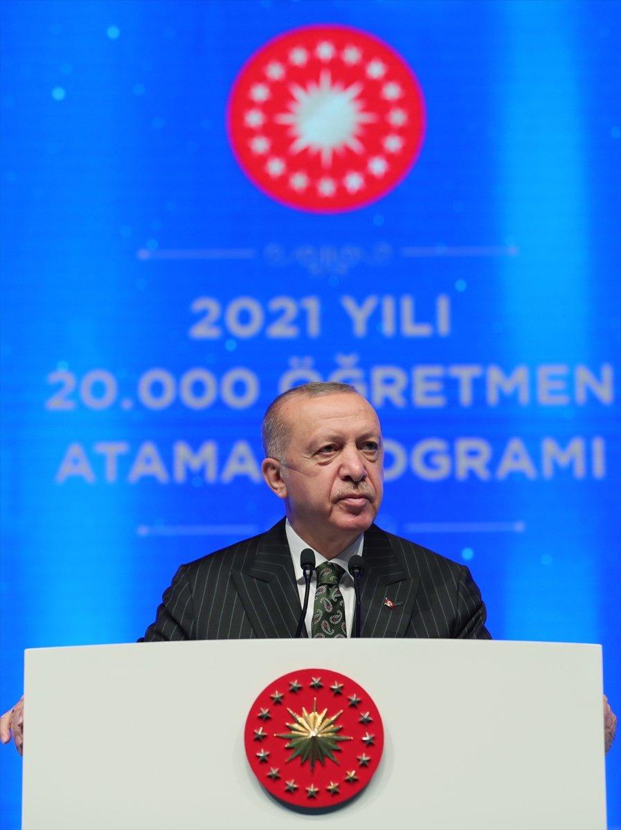 Cumhurbaşkanı Erdoğan, salgın döneminde eğitimde yapılanlar hakkında bilgi verdi #4