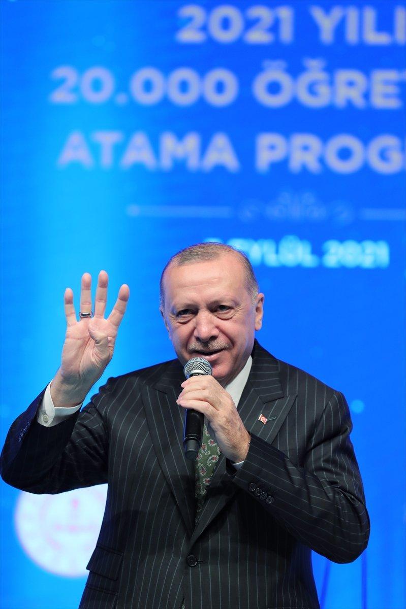 Cumhurbaşkanı Erdoğan, salgın döneminde eğitimde yapılanlar hakkında bilgi verdi #5