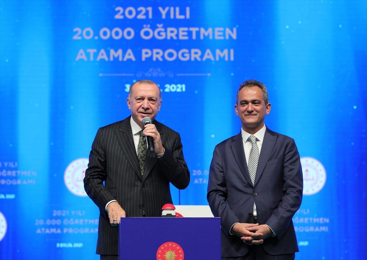 Cumhurbaşkanı Erdoğan, salgın döneminde eğitimde yapılanlar hakkında bilgi verdi #6