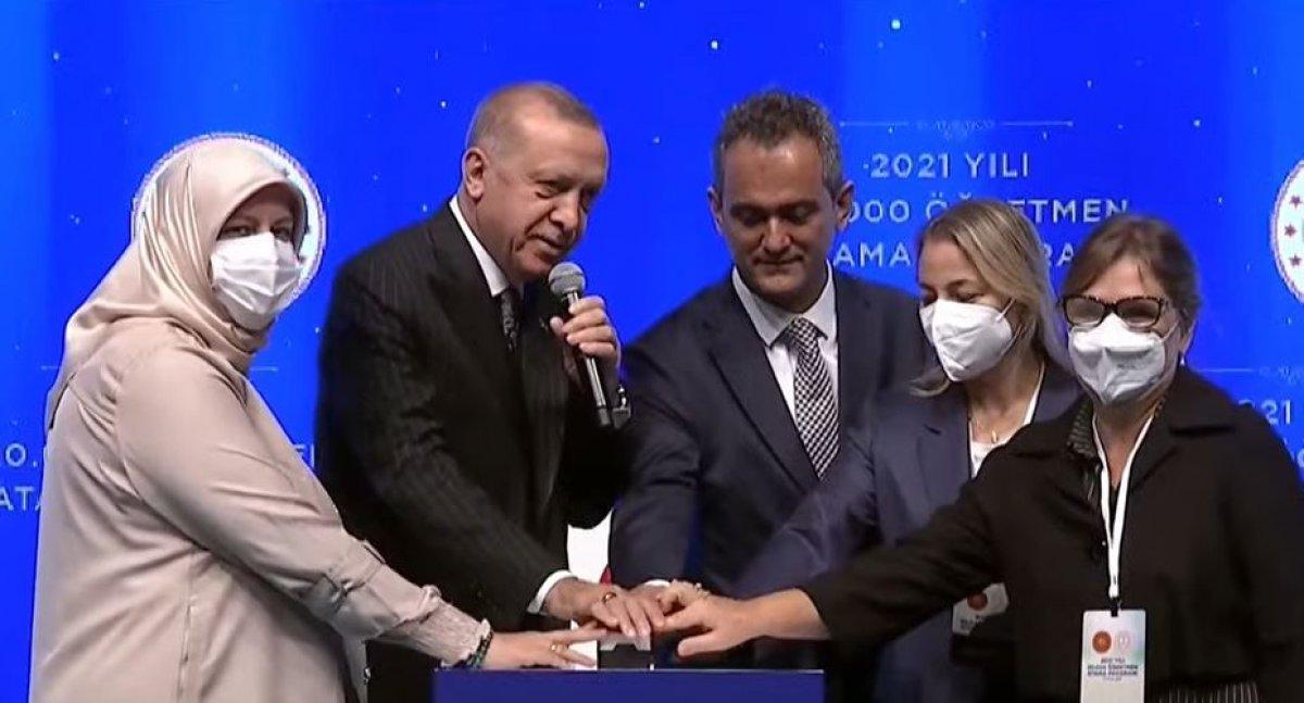 Cumhurbaşkanı Erdoğan ın 20 bin öğretmeni atama törenindeki konuşması #1