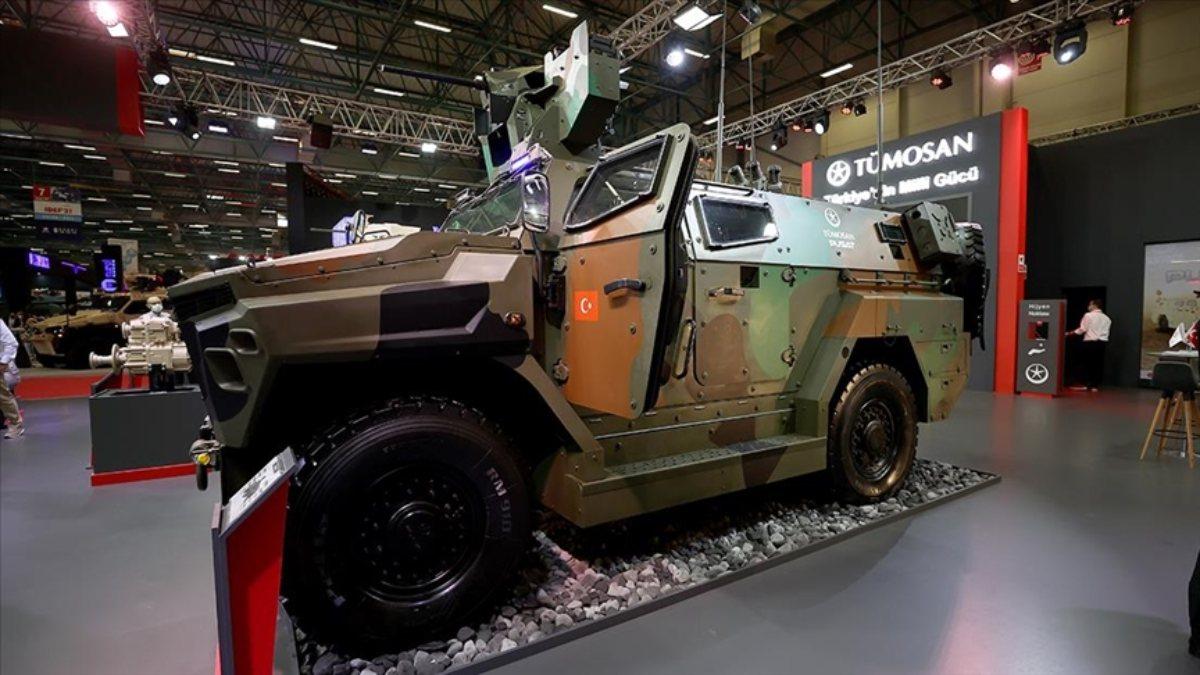 Türkiyenin yeni zırhlı askeri aracı: Pusat