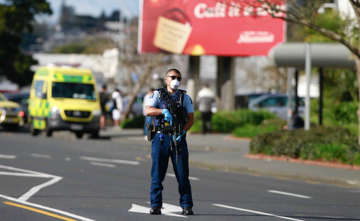 Yeni Zelanda da süpermarkete saldırı #5