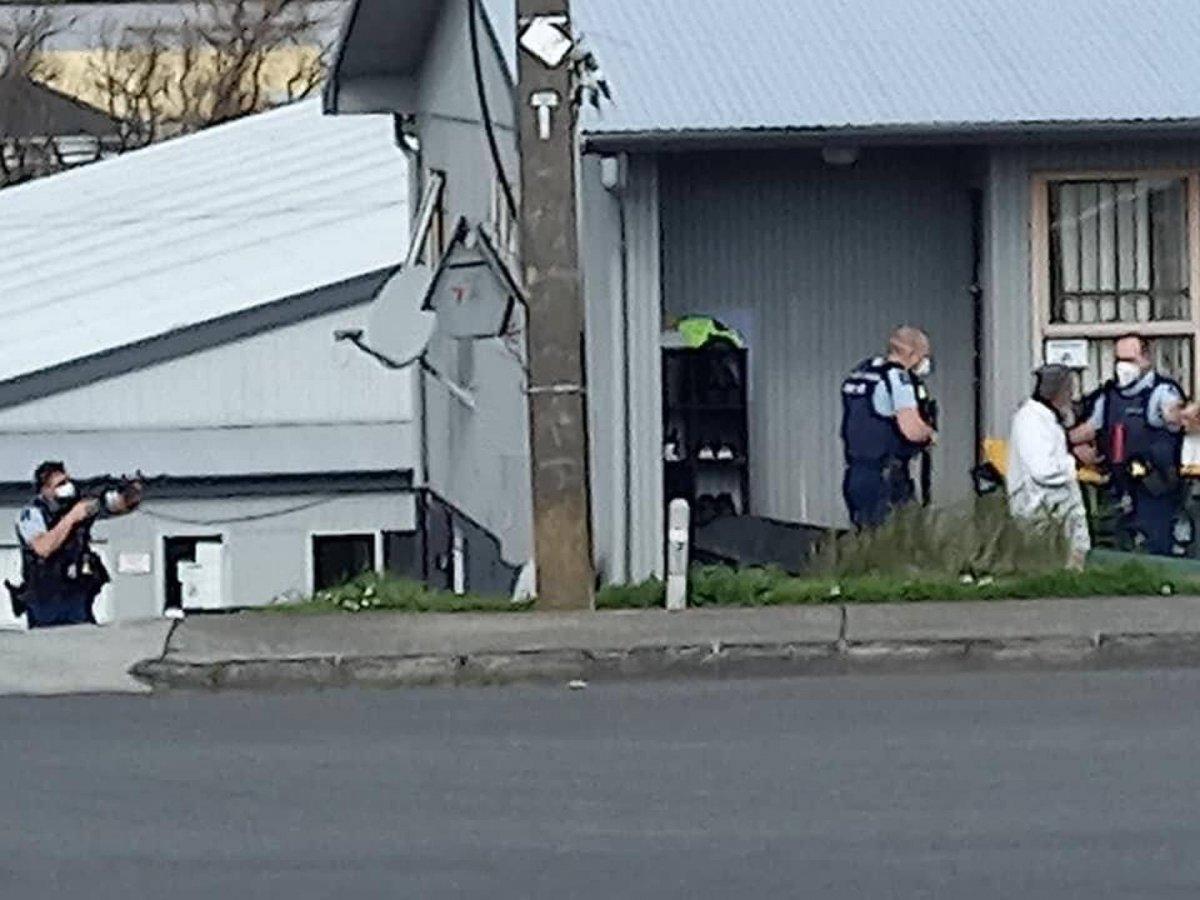 Yeni Zelanda da süpermarkete saldırı #4