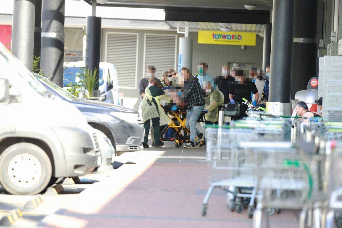 Yeni Zelanda da süpermarkete saldırı #2