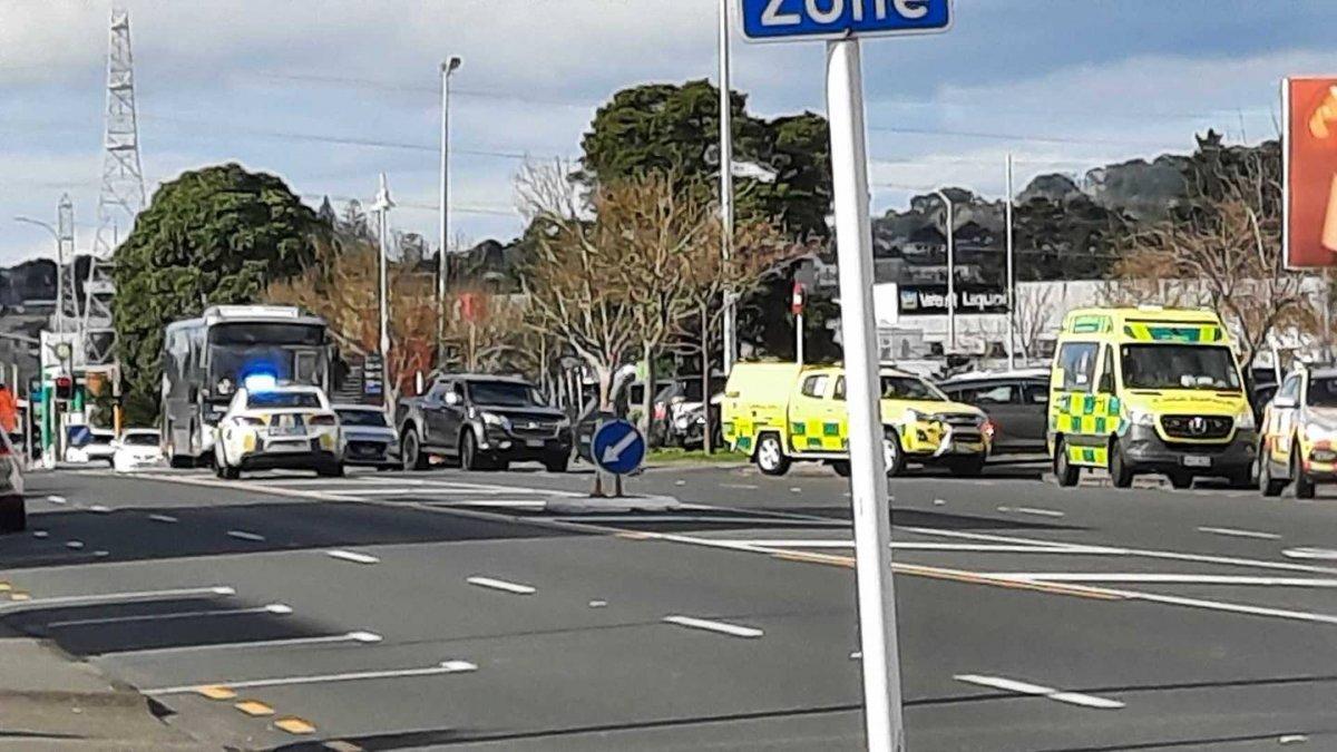 Yeni Zelanda da süpermarkete saldırı #3