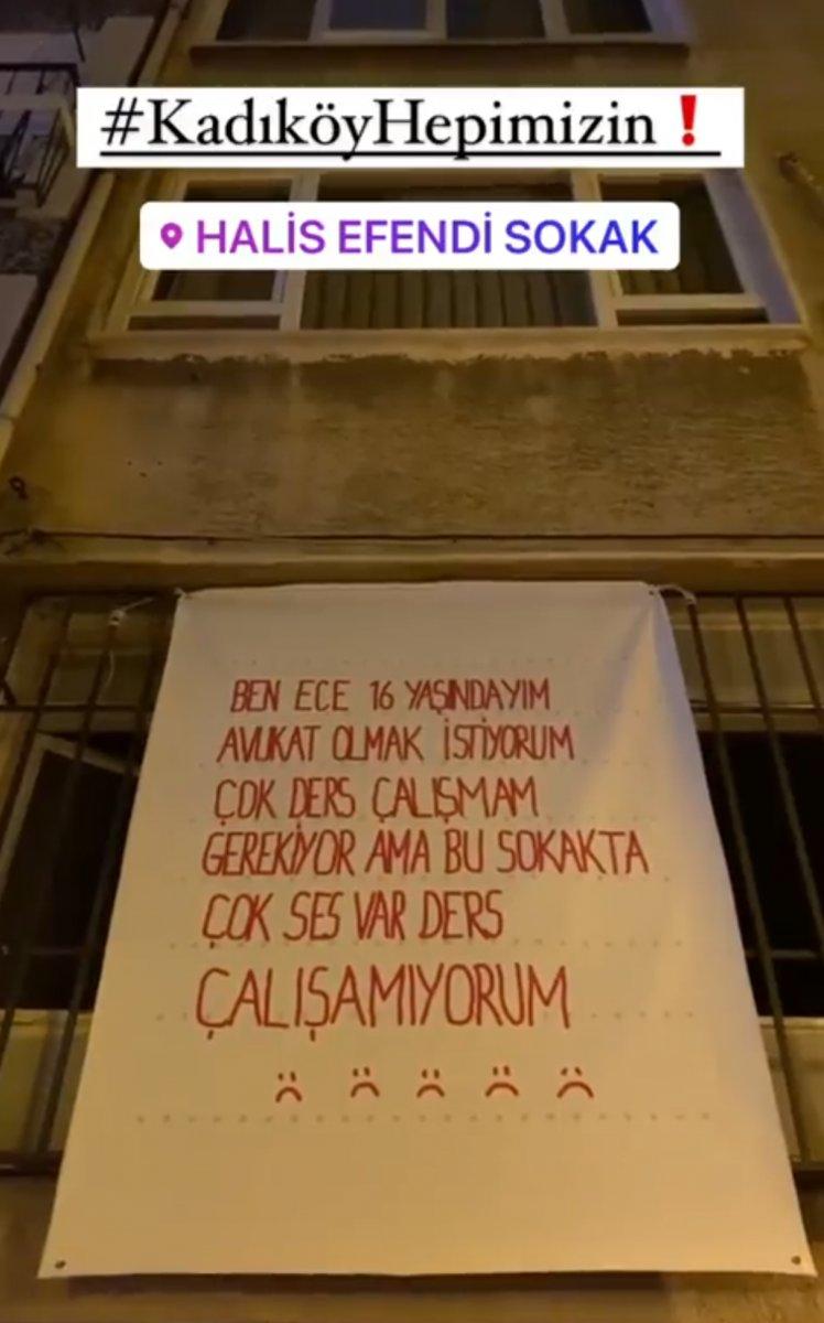 Kadıköy de gürültü kirliliğine karşı farkındalık çalışması  #4