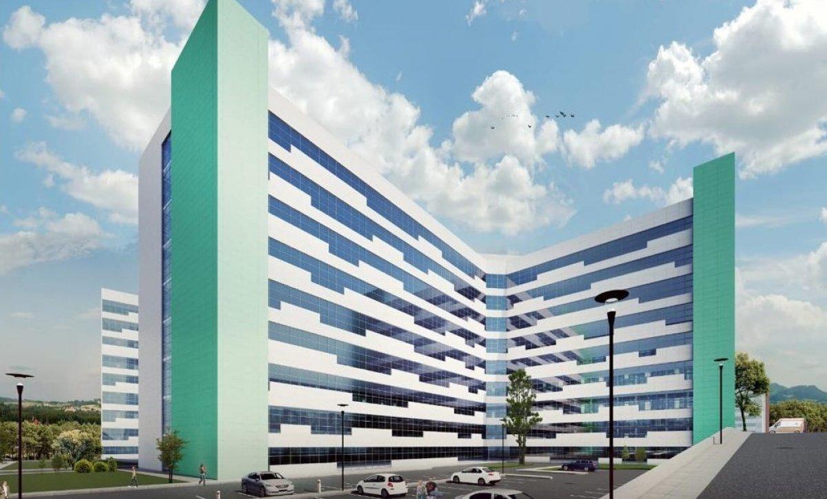 Antalya Şehir Hastanesi inşaatının yüzde 7'lik bölümü tamamlandı #2