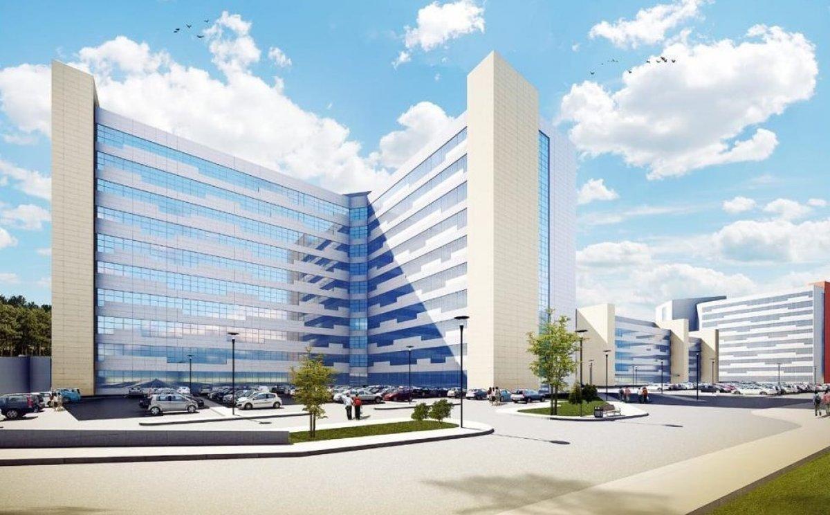 Antalya Şehir Hastanesi inşaatının yüzde 7'lik bölümü tamamlandı #8
