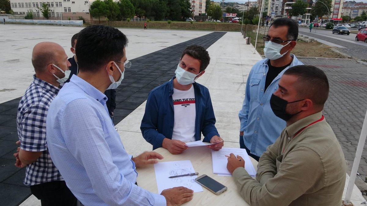 Samsun da doktorun aşı karşıtı vatandaşı ikna yöntemi #1
