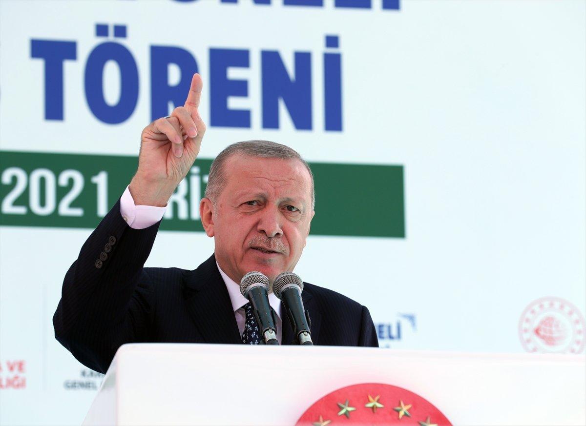Cumhurbaşkanı Erdoğan: Salarha Tüneli ülkemize hayırlı olsun #2