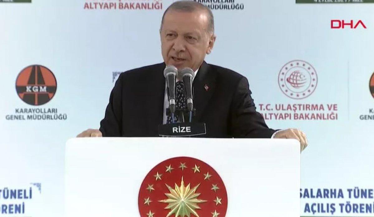 Cumhurbaşkanı Erdoğan: Salarha Tüneli ülkemize hayırlı olsun #1