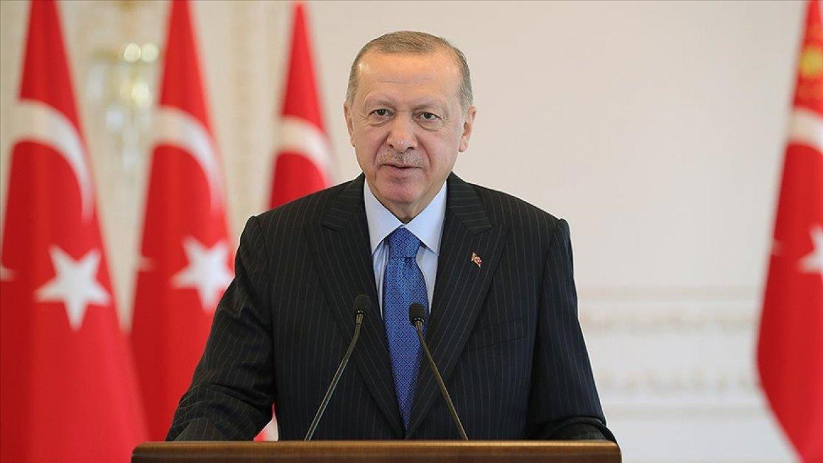 Cumhurbaşkanı Erdoğan dan  Sivas Kongresi  mesajı #1