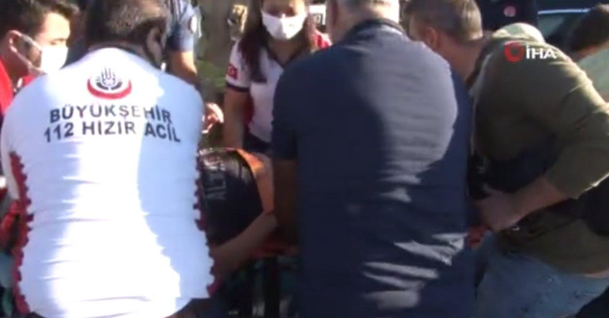 Esenyurt ta kaza geçiren polis memuru için meslektaşları seferber oldu #4