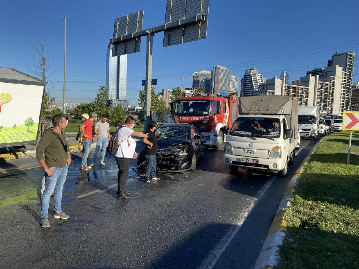 Esenyurt ta kaza geçiren polis memuru için meslektaşları seferber oldu #1
