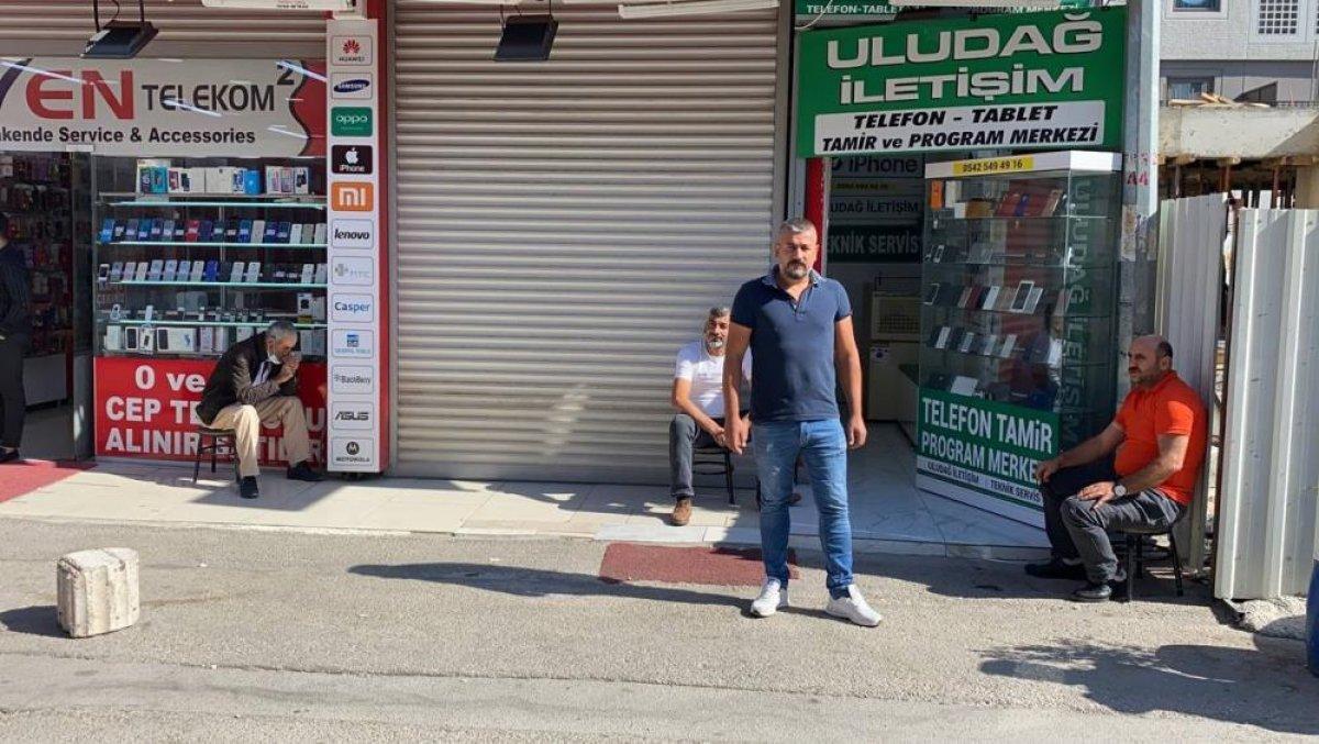 Bursa nın sevilen seyyar çerezcisi, ölümden kıl payı kurtuldu #6